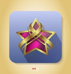 Flat style icon - web vector image