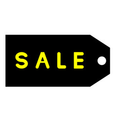 tag labeled for sale icon vector image vector image