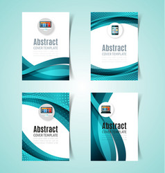 Abstract report cover4 vector