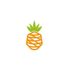 ananas logo vector image
