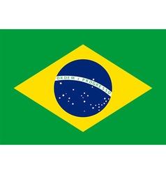 Brazilian flag vector