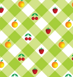 Checkered background vector