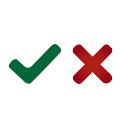 modern check mark icons vector image
