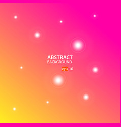 orange pink abstract background vector image