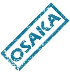 Osaka rubber stamp vector