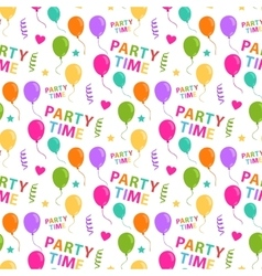 Party pattern seamless vector image