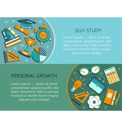 Personal growth creative vector