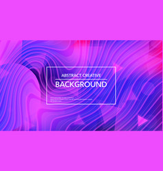 stylish abstract background in vivid colors vector image