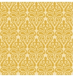 Ikat Damask Seamless Background Pattern vector image