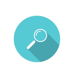 loupe icon vector image