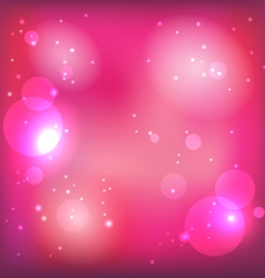 Pink magic background vector image