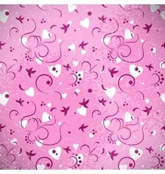 Romantic Grunge Background vector image