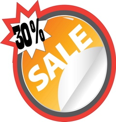 sale5 resize vector image