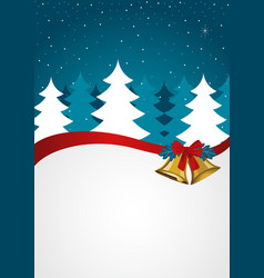 christmas background seasons greetings vector image