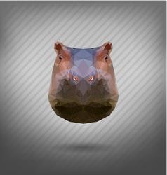 begemot vector image