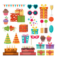birthday party holiday vector image
