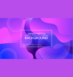 bright abstract background in purple color vector image