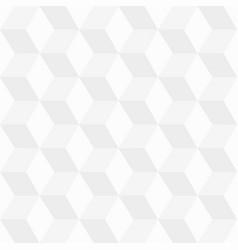 geometric pattern seamless white texture vector image
