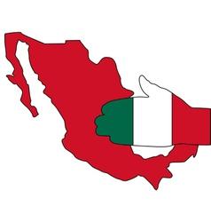 Mexican handshake vector