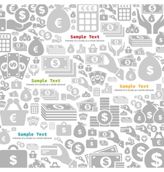 Money a background2 vector image