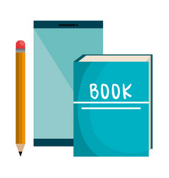 text book school supply vector image