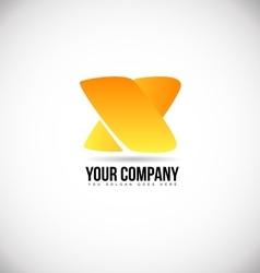 Alphabet letter x logo icon design vector
