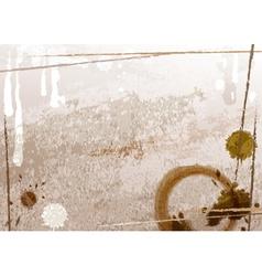 Coffee Backdrop vector image vector image