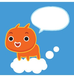 Talk To Sky vector image vector image