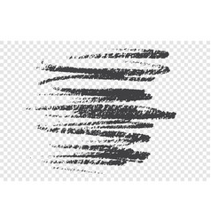 dirty charcoal scribble hand drawn vector image
