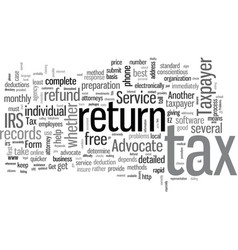 How to get that tax refund faster vector