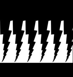 lightning bolt - abstract geometric pattern vector image
