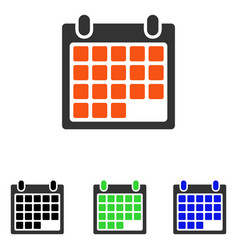 Month flat icon vector