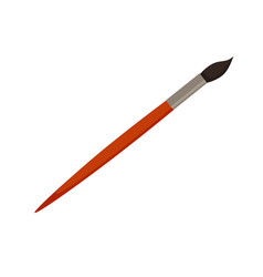 paint brush icon colorful vector image