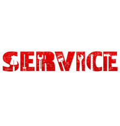 Service and maintenance vector