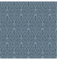 Ikat Damask Seamless Background Pattern vector image