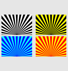 abstract rays - striped background vector image