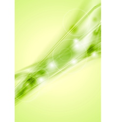 Bright template vector image