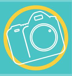 Camera icon photography vector
