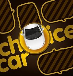 Choice Car vector image