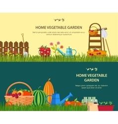 garden work vector image