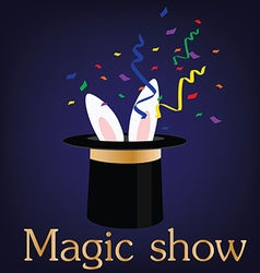 Magic show vector