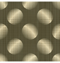 ornate polka dot vector image