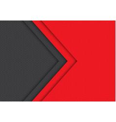 Red grey arrow hexagon mesh pattern direction vector