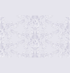 Royal victorian pattern ornament rich vector