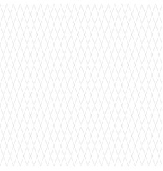 seamless rhombus like geometric pattern in white vector image