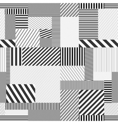 Seamless striped background vector image