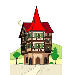 Weird house vector
