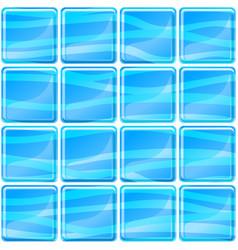 blue tiles texture seamless vector image