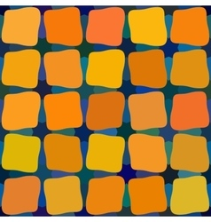 Blue Yellow Orange Color Shades Seamless vector image vector image