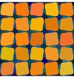 Blue yellow orange color shades seamless vector